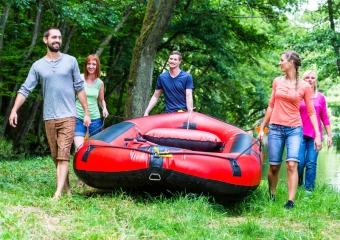 Ein Schlauchboot kaufen
