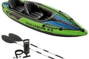 Intex Schlauchboot Aufblasbares Kajak Boot Challenger K2